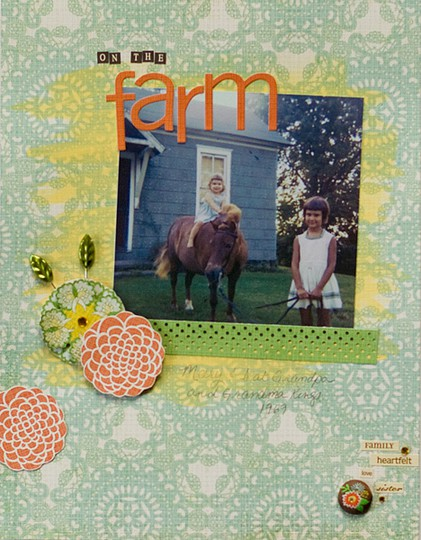 On the farm web