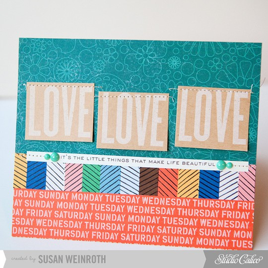5   love love love card   susan weinroth