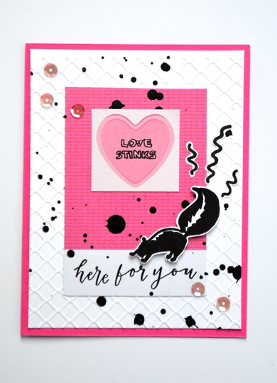 Love stinks card original