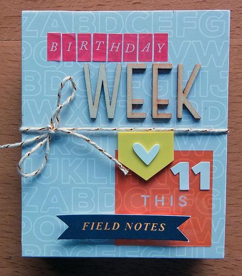 Birthday week 1 by jennifer larson