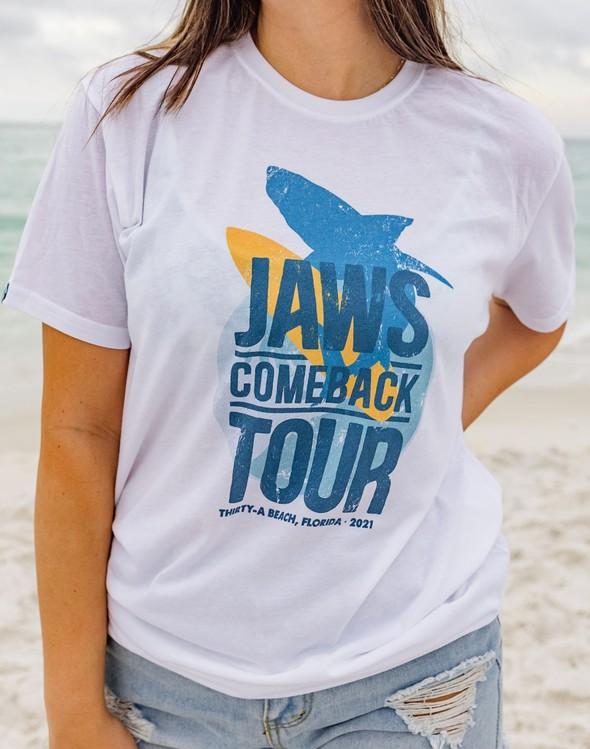 168187 jawscomebacktourshortsleevewomenwhite slider3 original