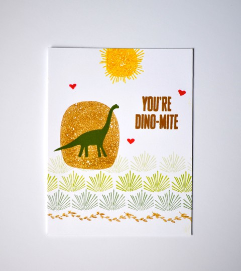 You%2527re dino mite card original