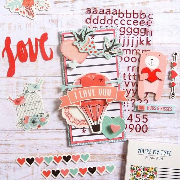 Spellbinders elodie lusseau january kit card with add ons original