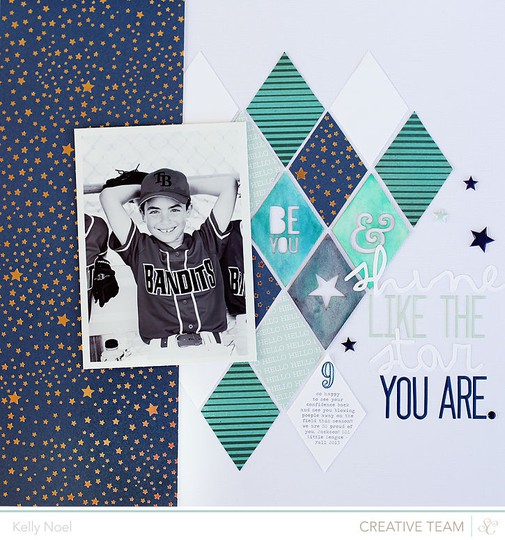 Shine like the star you are   studio calico blue note kit   kelly noel