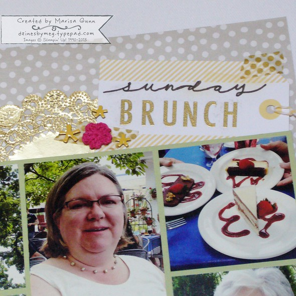 Scrapbook brunch 2