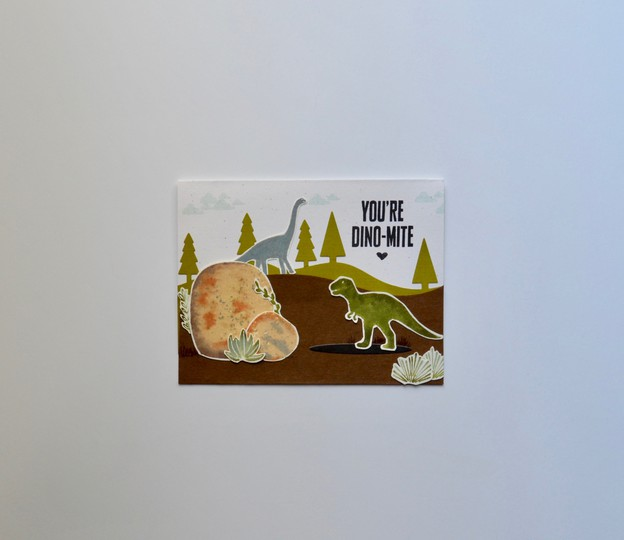 Dinomite card original