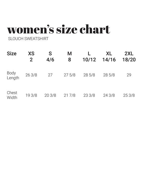 30a sizecharts slouchsweatshirt original