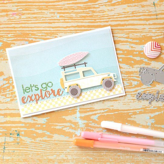 Offroad card by natalie elphinstone original