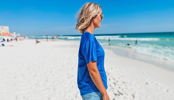 152580 gulf coast short sleeve sun shirt women royal slider2 original