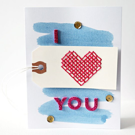 Iheartyoustitchedcard web