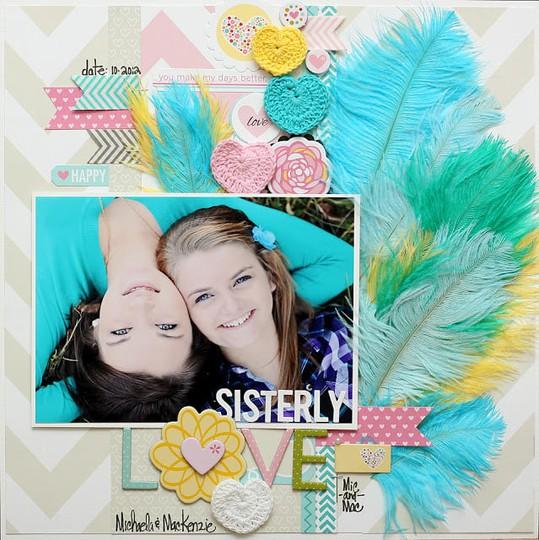 Meganklauer sisterly love