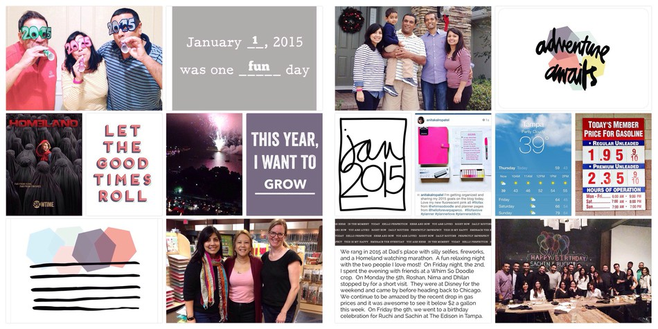 2015 project life january 01