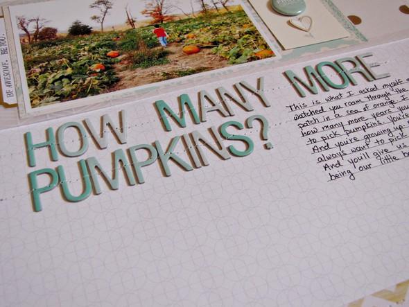 How many more pumpkins   a