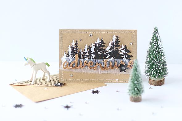 Sizzix treelinedie christmascard 001 original