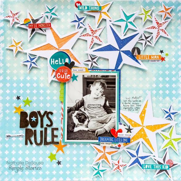 Ss boys rule nathalie desousa 2 original