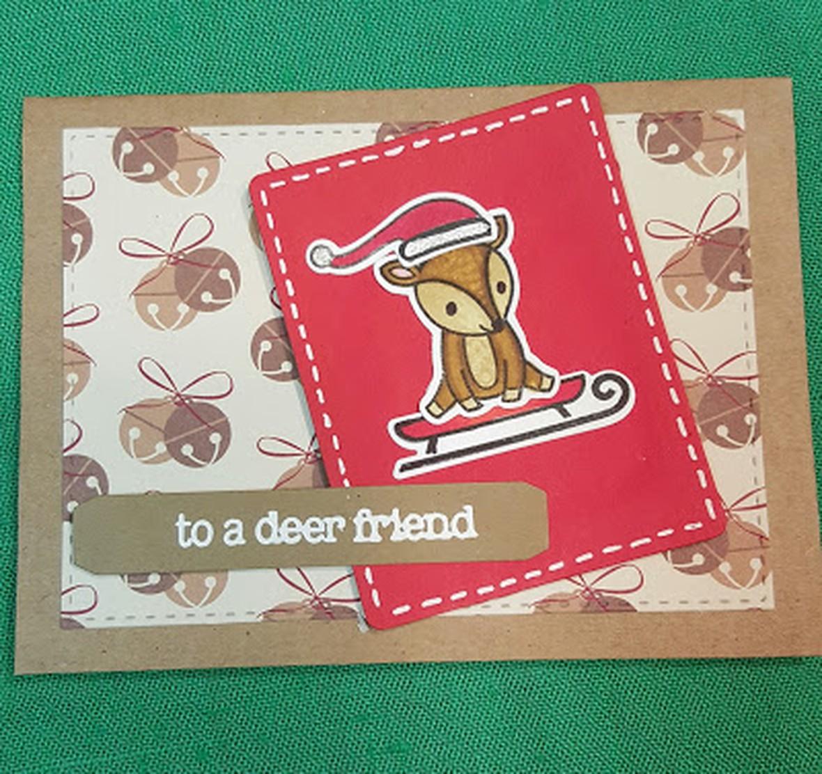 To dear friend card original