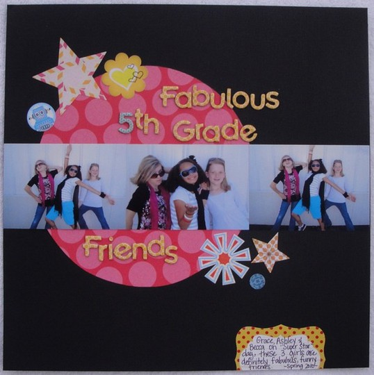 5th grade friends layout