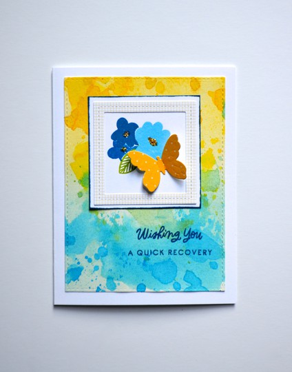 Quick recovery butterfly card original