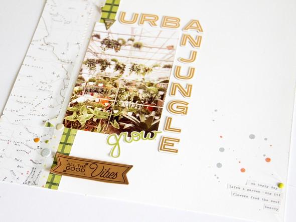 Urbanjungle scatteredconfetti scrapbooking layout gossamerblue pinkpaislee 2 original