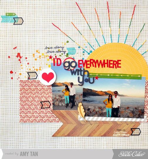 Go everywhere 1