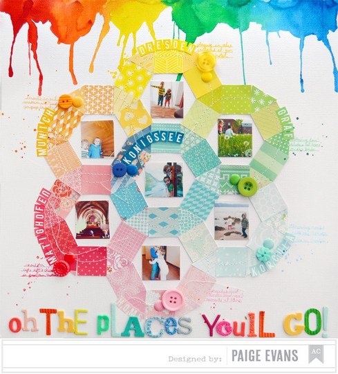 Oh the places you'll go by paige evans