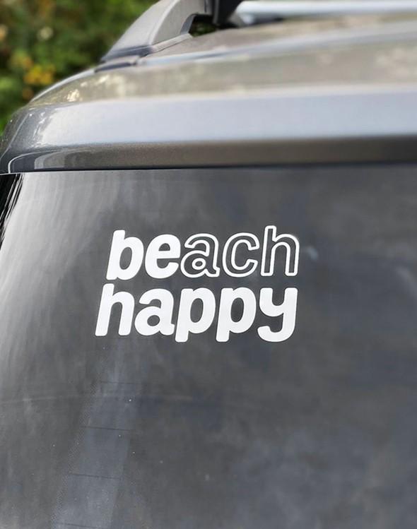 110970 beach happy vinyl sticker slider 2 original
