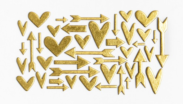 94400 goldfoilchipboardheartsandarrows slider original