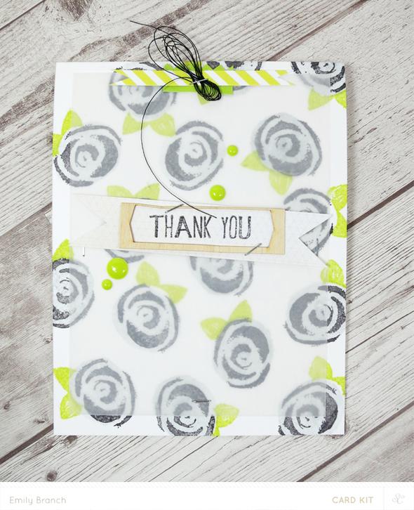 Thankyouroses card