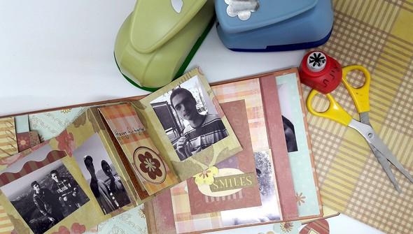 Moving mini album marketing photo 1 original