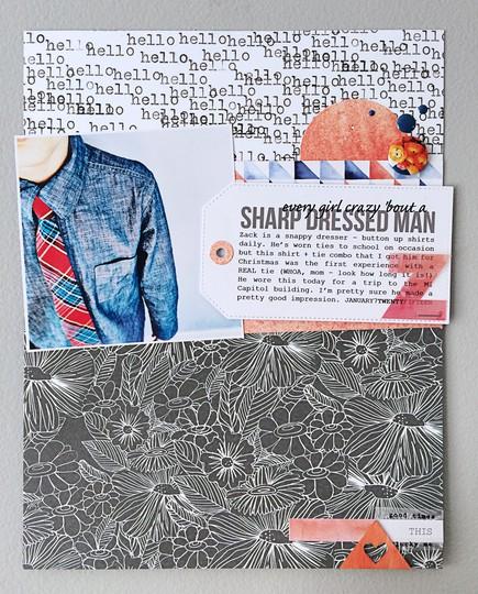 Sharp dressed