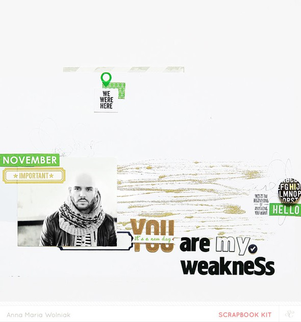You are my weakness