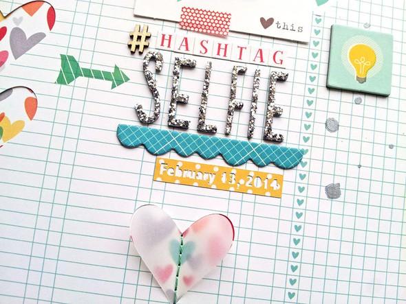 Hashtag selfie2