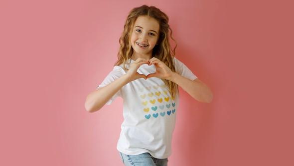 Ns129182 heart grid short sleeve slider original