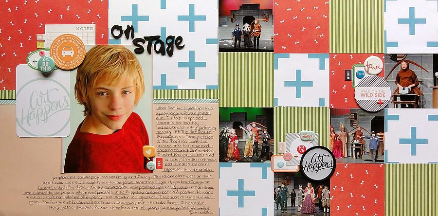 On stage by jennifer larson original
