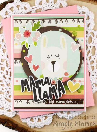 Mama llama three original