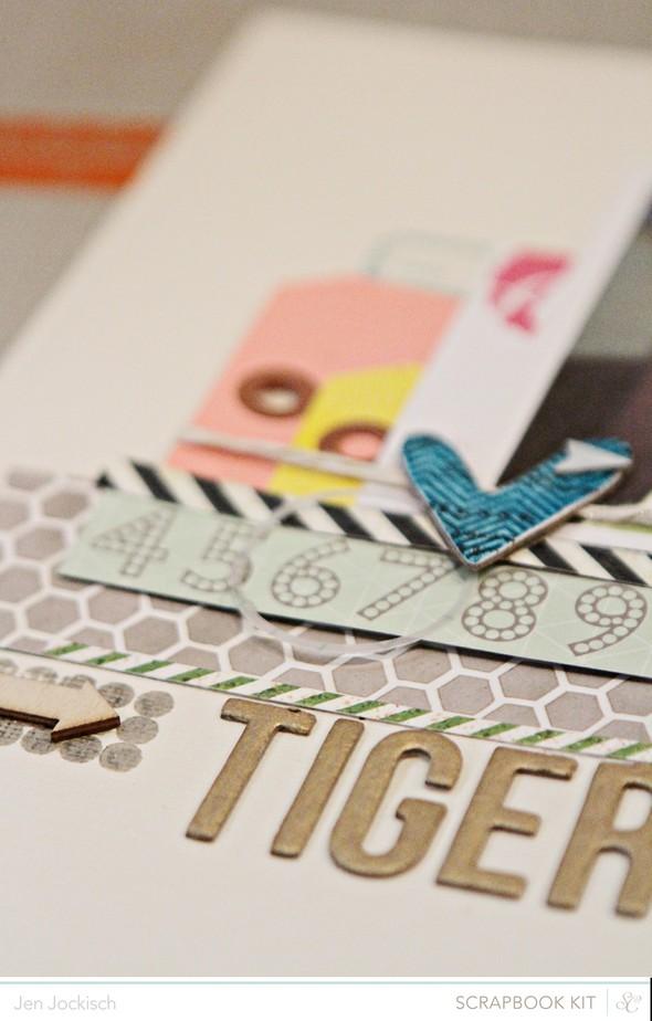Tigerlily detail
