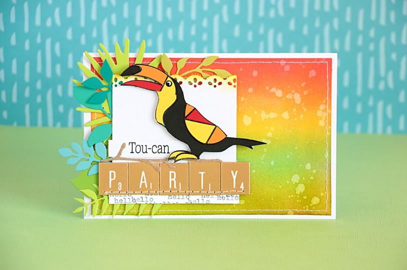 Toucan party by natalie elphinstone original