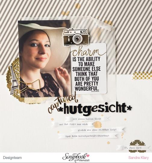 Hutgesicht sandraklary original