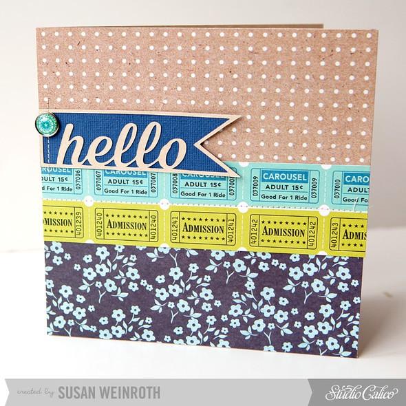 8   hello card
