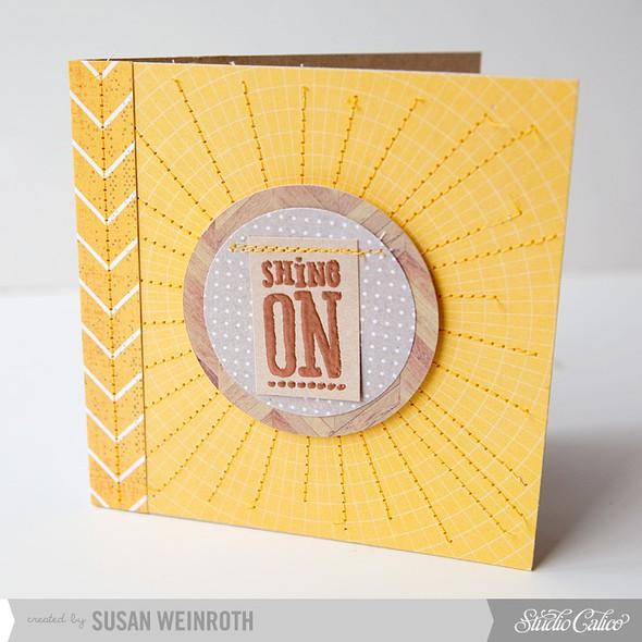 6   shine on card