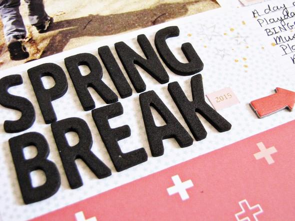 Spring break   b