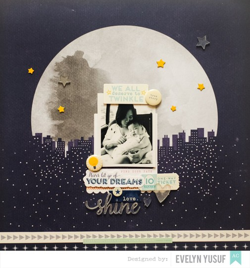 Shine bright american crafts star shine shimelle full layot by evelynpy copy original