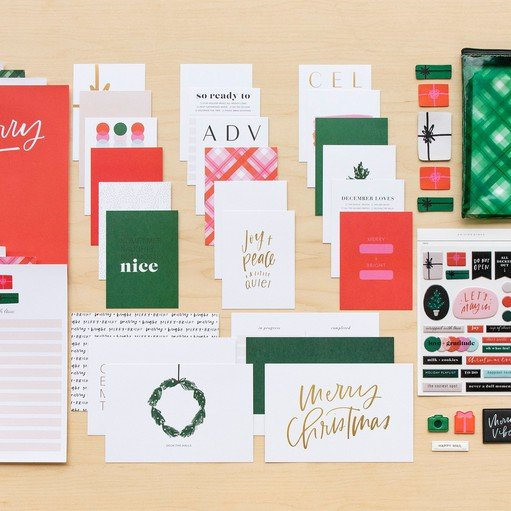 Picture of December Daily® 2021 Mini Kit by Paislee Press