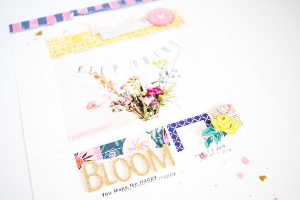 Bloom scatteredconfetti scrapbooking layout citrustwistkits february cratepaper 2 original
