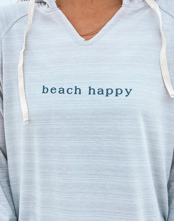 121777 simple beach happy french terry hoodie oatmeal women slider 2 original