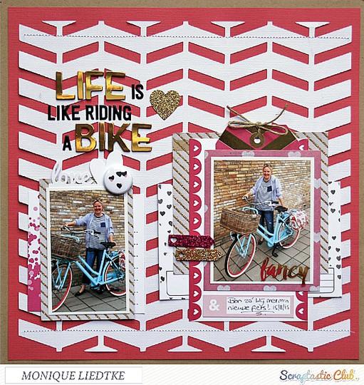 Mliedtke scraptastic august elastic heart life is like riding a bike 600 b original