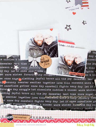 Ohwhatfun scatteredconfetti scrapbooking layout citrustwistkits december 1 original
