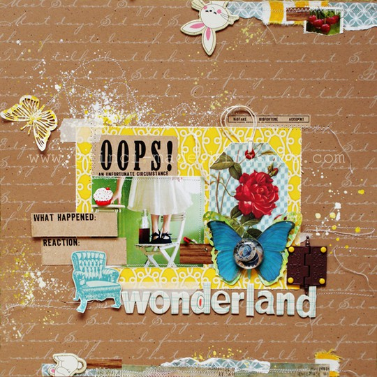 Wonderland   znak