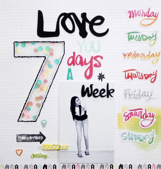 Love you 7 days c