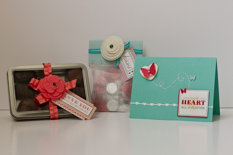 Card and treat trio 1